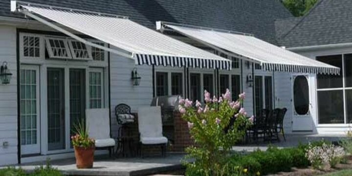 Retractable Awnings Maine Bay Canvas